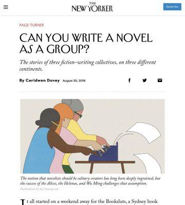 E voi, lo sapreste scrivere un romanzo collettivo?