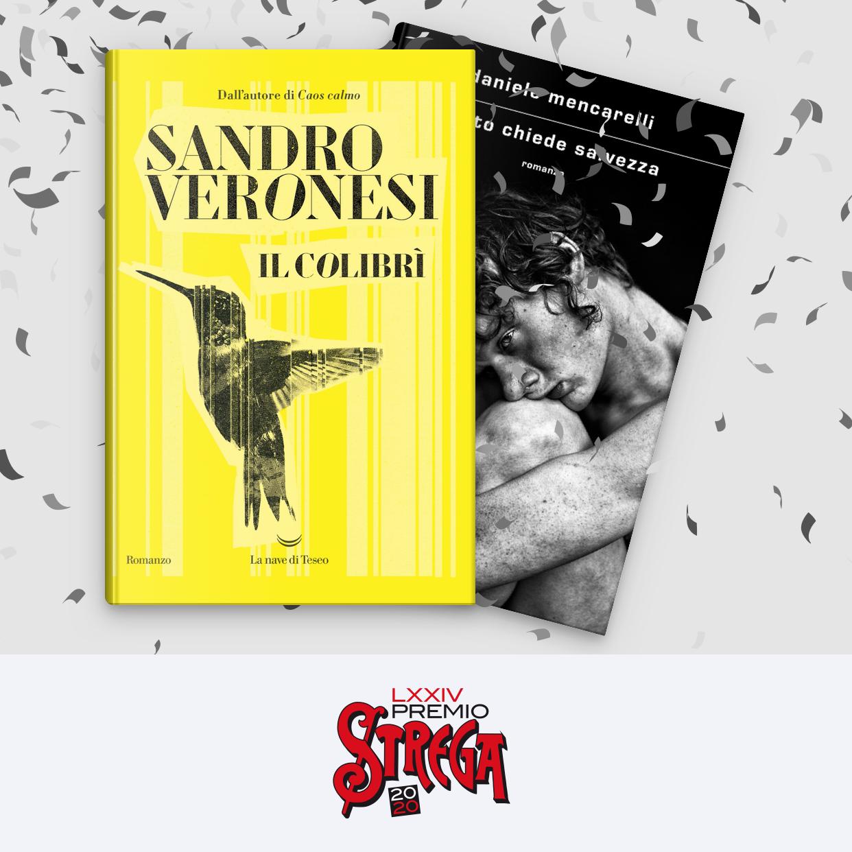 Premio Strega 2020: vince Il Colibrì di Sandro Veronesi