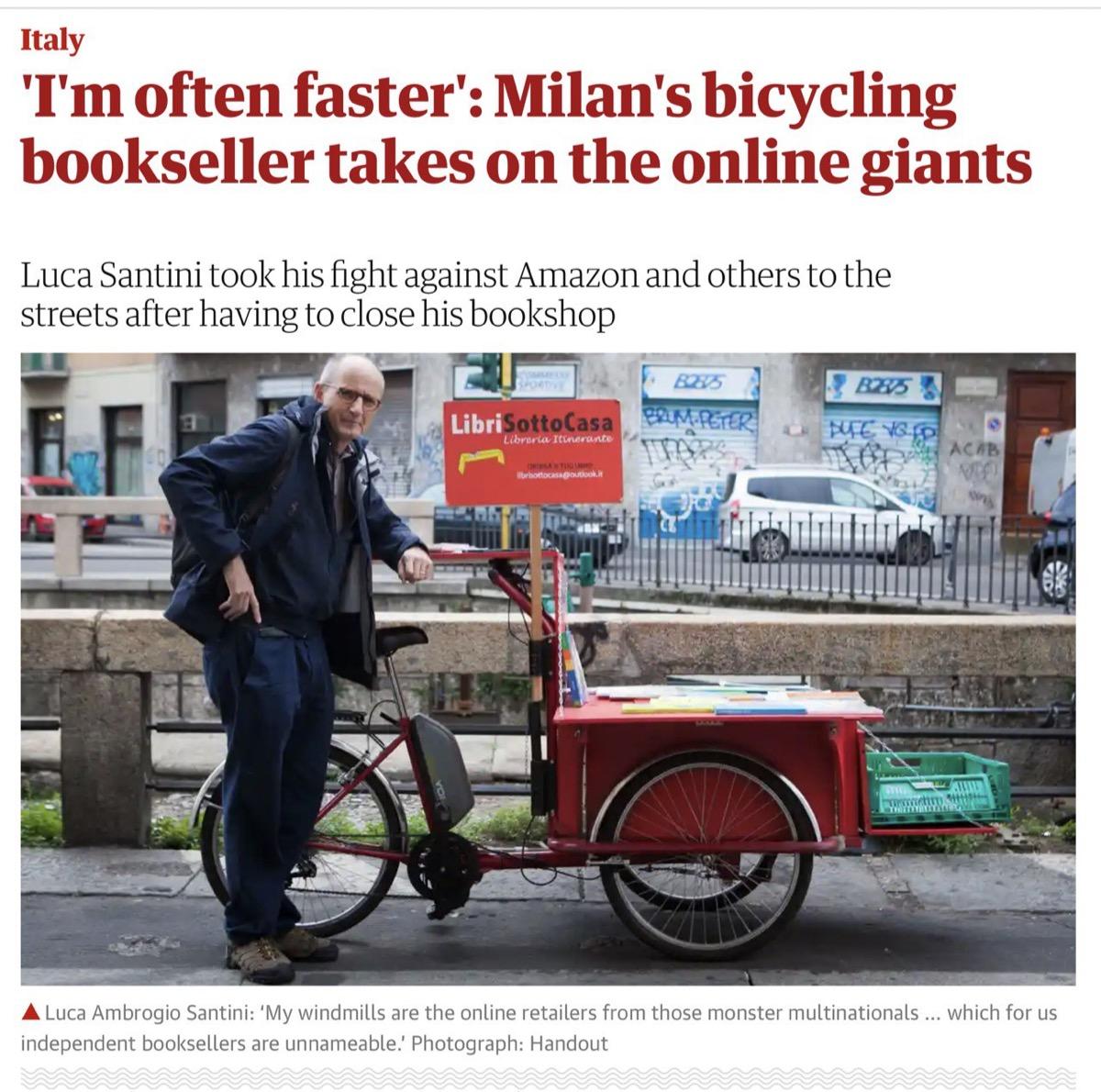 Portare i libri sotto casa