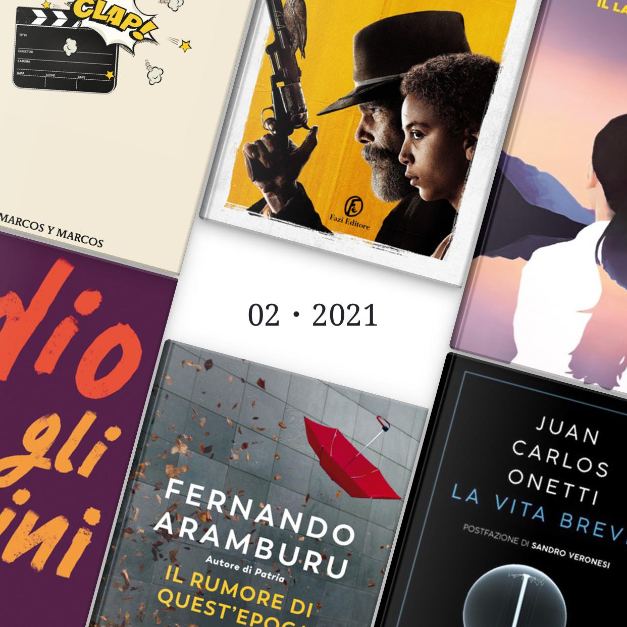 Consigli di lettura: le nuove uscite di Febbraio