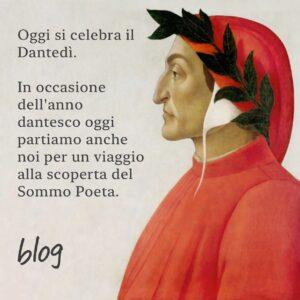 Dantedì, settecento anni di Dante Alighieri
