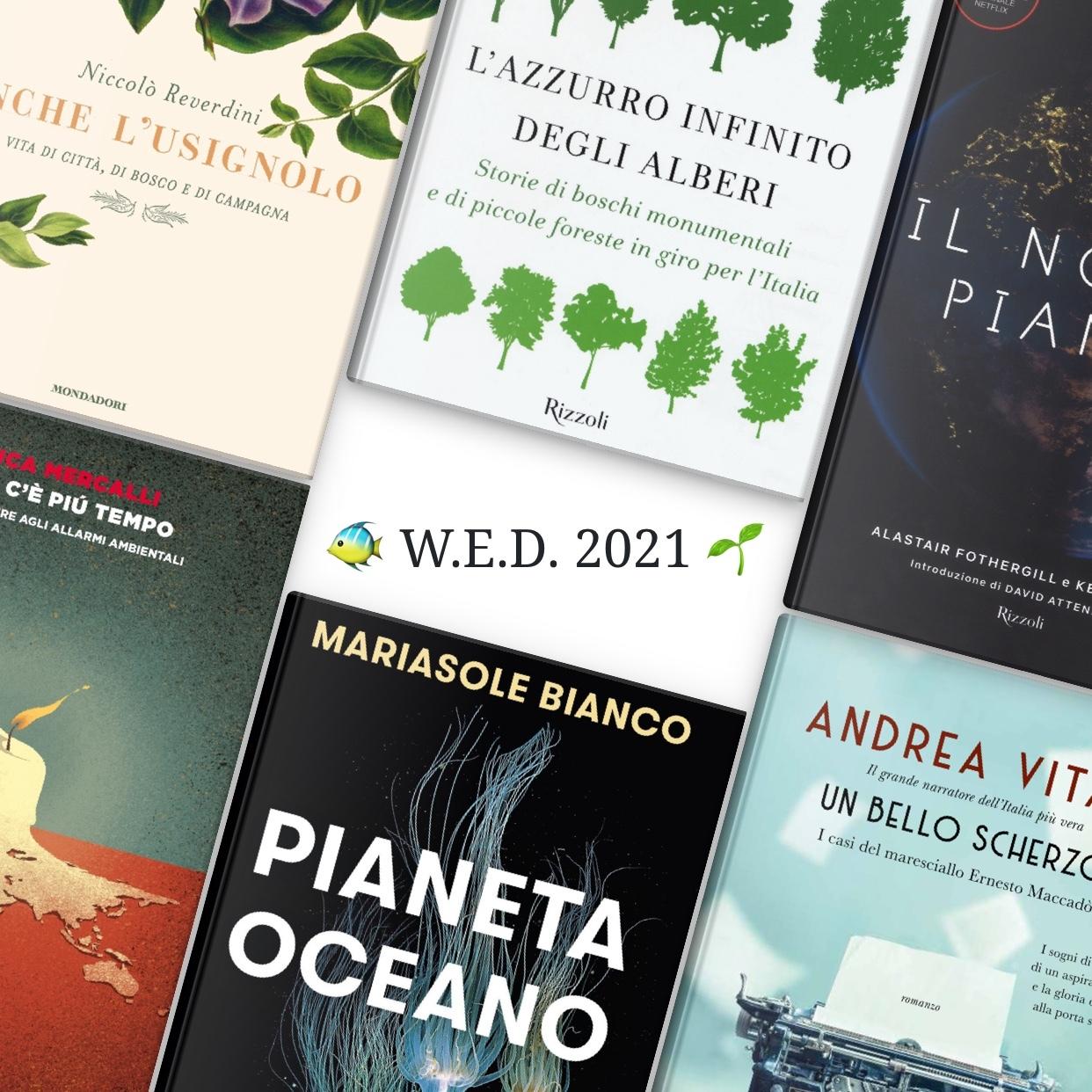 Giornata Mondiale dell'Ambiente 2021: un libro per agire