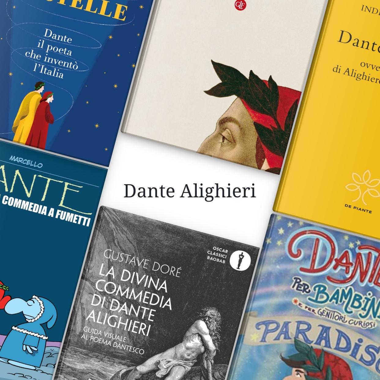 Sette libri per conoscere meglio Dante
